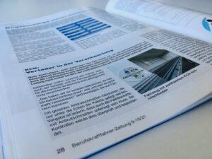 LaSi-Veranwortung der Verlader, Artikel in der Berufskraftfahrer-Zeitung zur