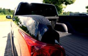 Pick-up mit Ladeflächenbeschichtung inkl. Kantenschutz